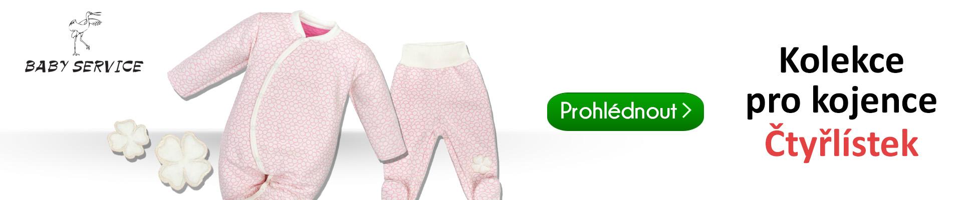 65023843c75 Pro malé princezničky je jako stvořená zimní kolekce Baby Service  Čtyřlístek. Oblečení z této kolekce je vyrobeno z teploučkého mikrotermo  úpletu