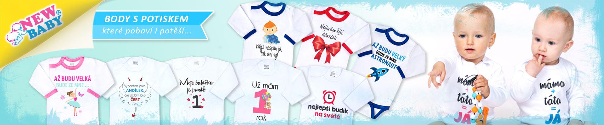 Kolekce New Baby Vtipné potisky f7c67414e5
