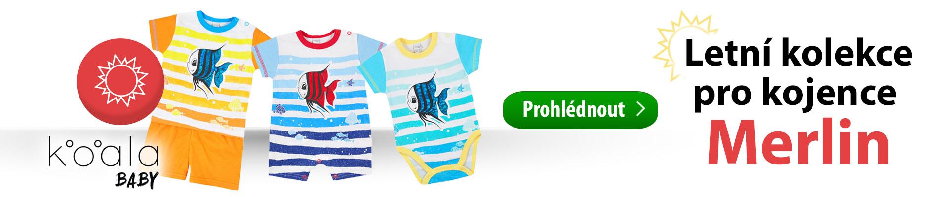 d772ce4b280 Krásná módní letní kolekce kojeneckého oblečení Koala Merlin. Tato kolekce  je speciálně navrhnuta z příjemných a praktických materiálů