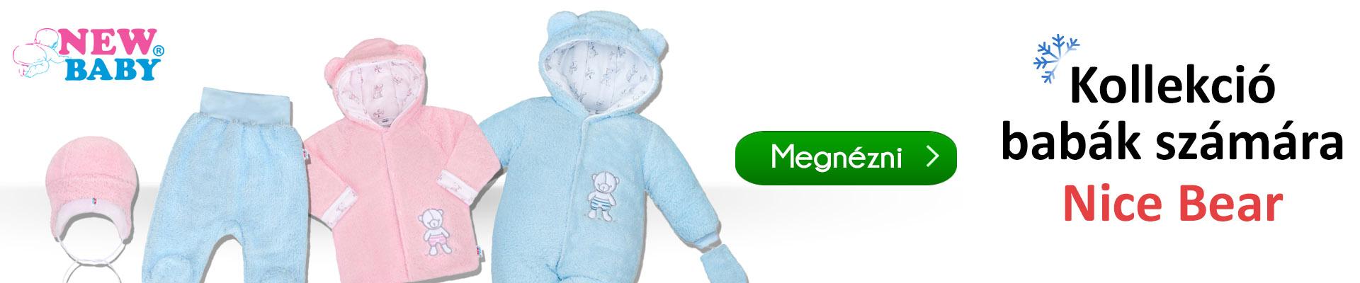 27757e1cf7 A kényelem és a minőség kedvelői számára a New Baby Nice Bear aranyos téli  kollekcióját tervezték. A kislányok és a kisfiúk a plüss darabokban nagyon  ...