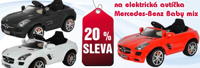 Elektrické autíčko Mercedes-Benz Baby Mix